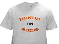 barry bonds on roids shirt